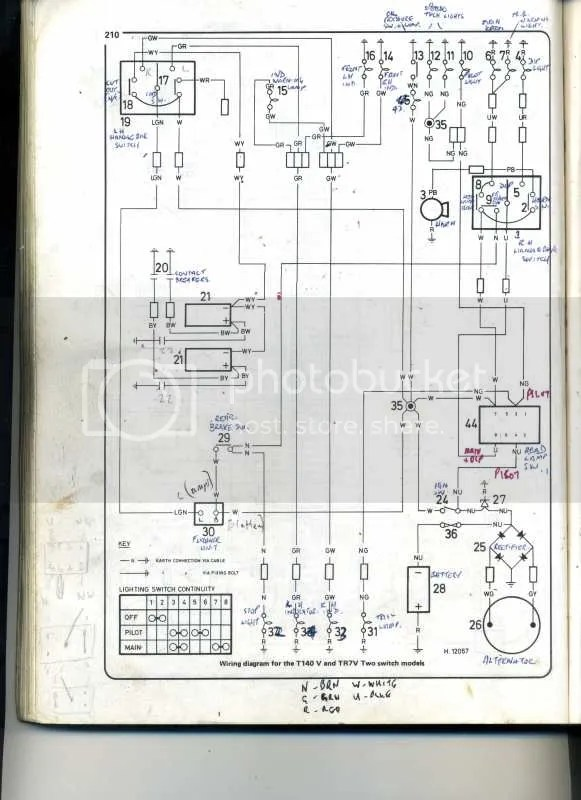 1972 triumph bonneville wiring diagram 2000 jeep cherokee radio ignition switch problem - forum: rat motorcycle forums