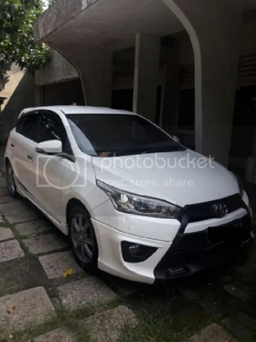toyota yaris trd putih grand new avanza veloz matic sportivo s manual th 2016 kondisi 90