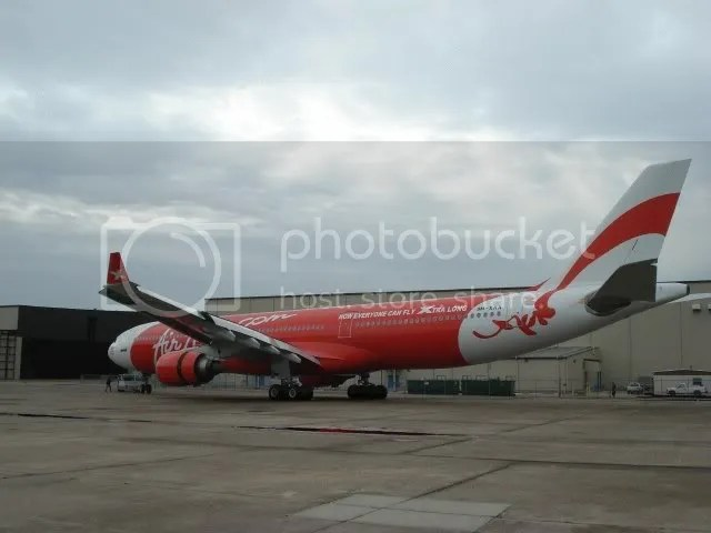 AirAsia X's leased plane