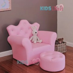 Sofa Chair For Baby Girl Martha Stewart Saybridge Review Pink Girls Toddlers Bone Leather Crystal Princess Kids Store Categories
