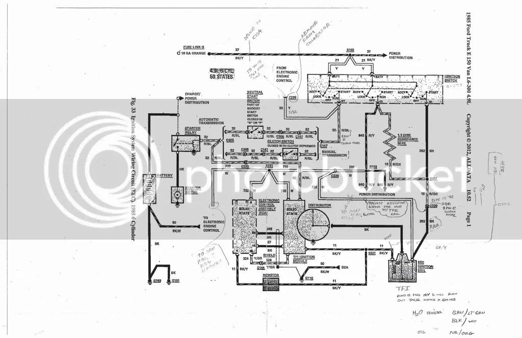 85 F150 Tfi Wiring Diagram 85 Suburban Wiring Diagram