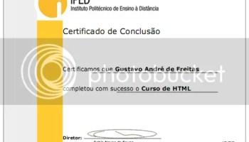 certificado html