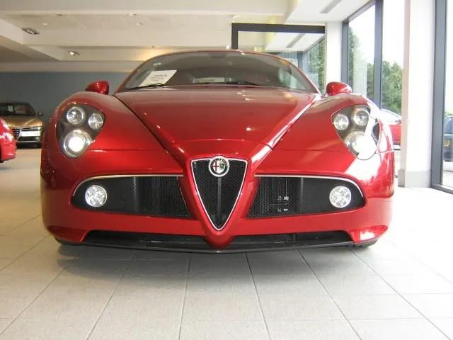 8c At Western Alfa, Edinburgh  Alfa Romeo Forum