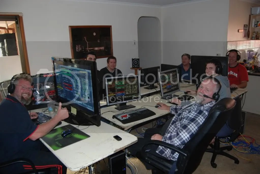 LAN party geek