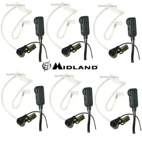 Midland Two Way Radio Transparent Security Surveillance