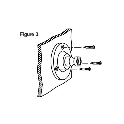 Bogen Horn Loudspeaker 30 Watt Paging Metal PA Single Tap