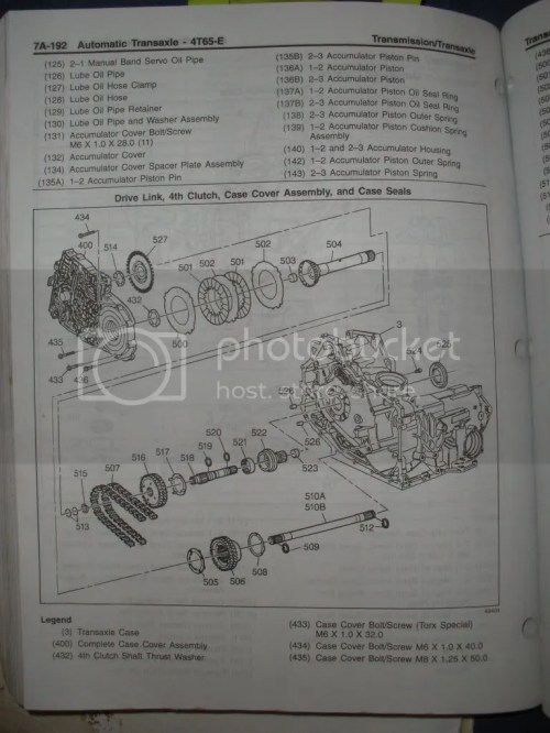 small resolution of i need an exploded view of 4t65e hd transmission gm