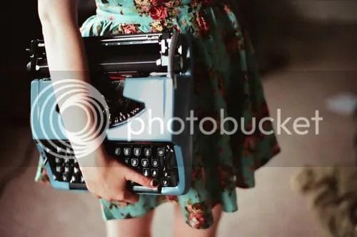 60er Jahre Schreibmaschine