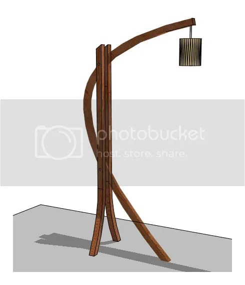 Bent Lamination Lamp