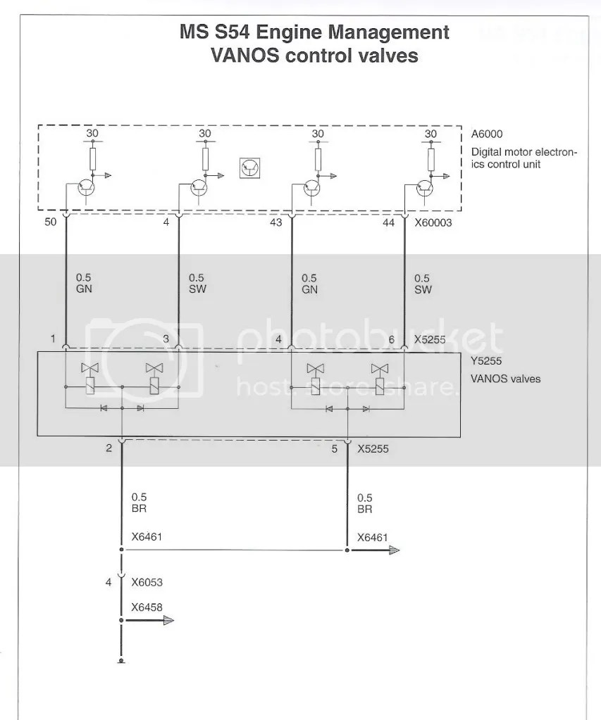 medium resolution of diagram wiring sensor e46 crank