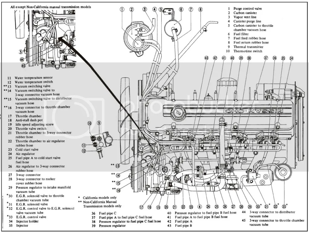 medium resolution of 280z engine diagram wiring diagram expert 1977 datsun 280zx engine diagram wiring diagram data val 280z