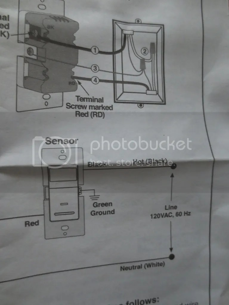 medium resolution of leviton motion sensor switch wiring photo album wire diagram leviton motion sensing light switch pete s