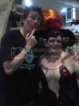 The Balrog Showgirl with Richard Taylor