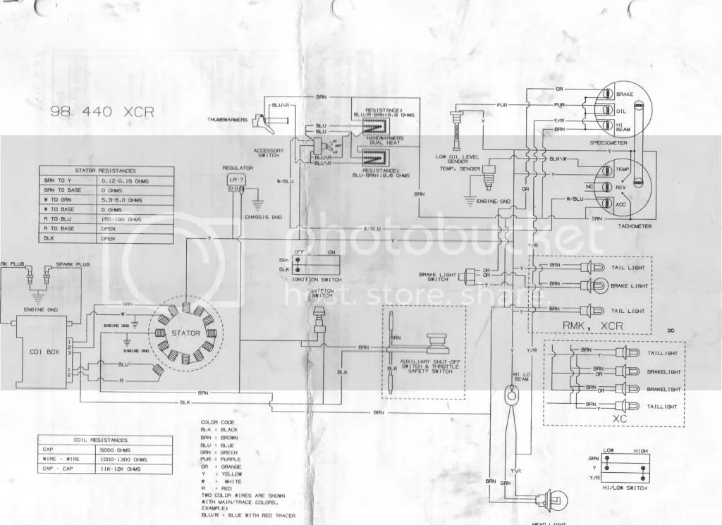 1999 Polaris 700 Xc Wiring Diagram. Wiring Diagram