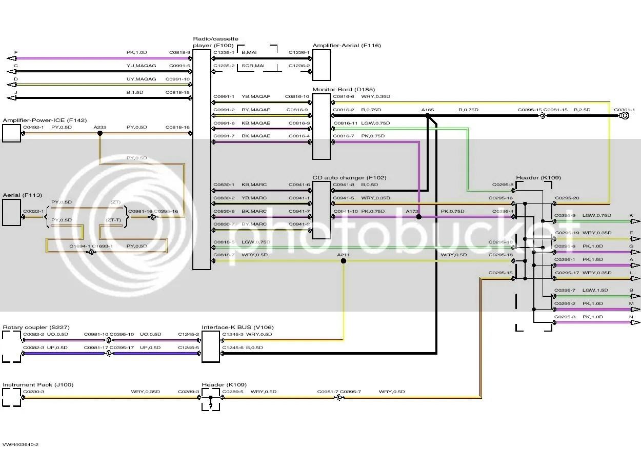 rover 75 wiring diagram whelen lightbar for the harman kardon and zt