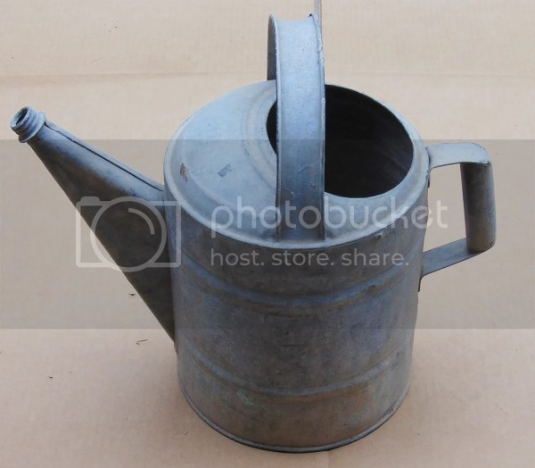Vintage Metal Watering Can Spouts