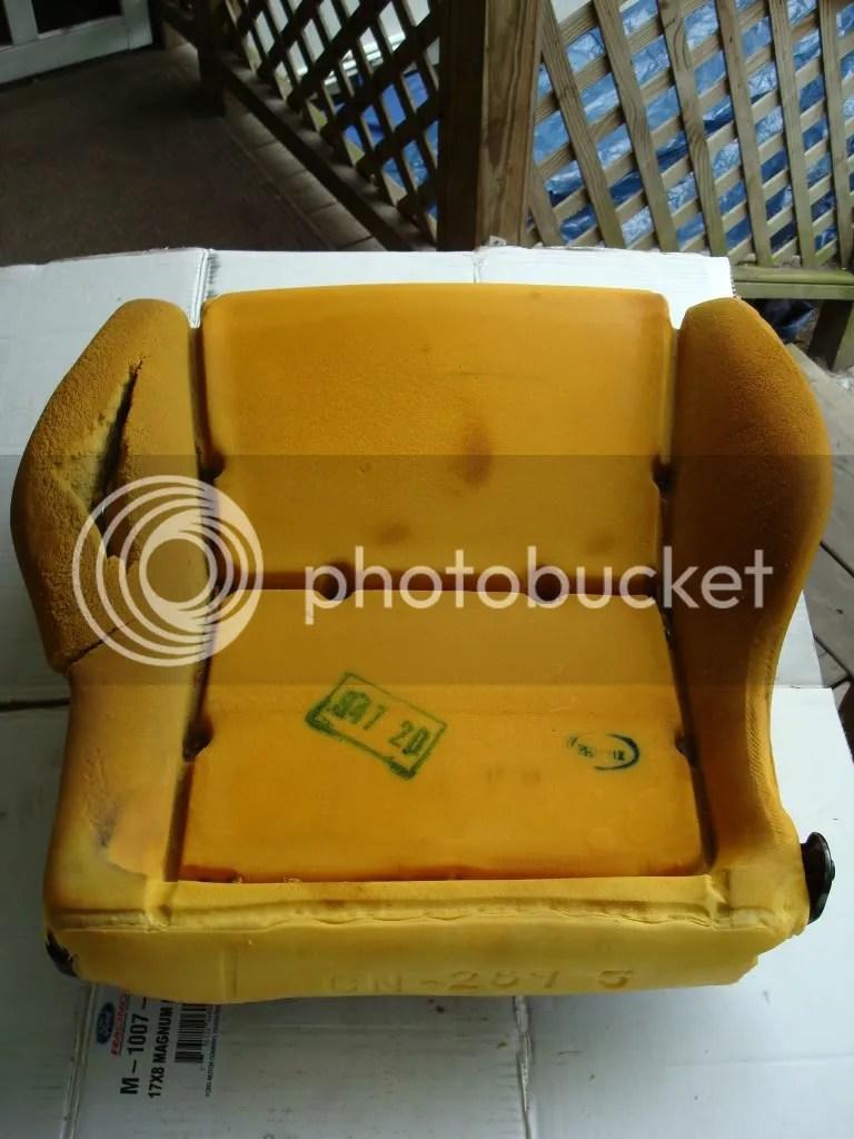 medium resolution of seat foam repair