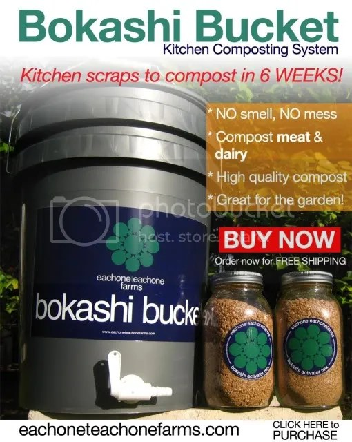 bokashi bucket,each one teach one farms,bokashi