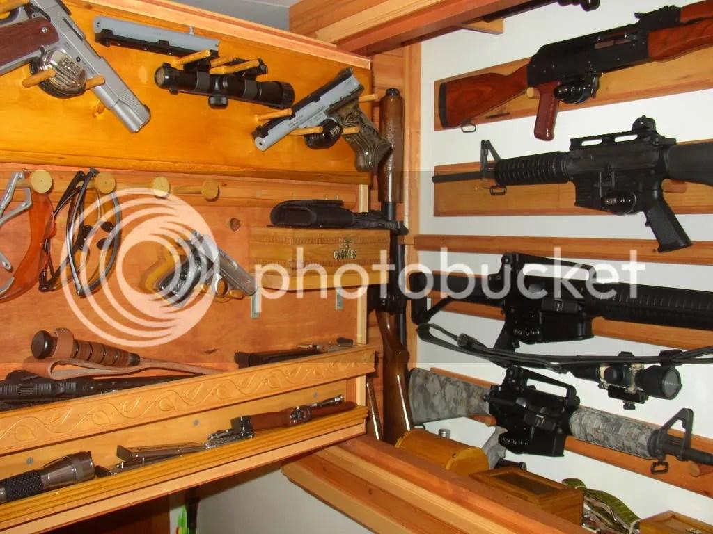 Plans For Hidden Gun Cabinet