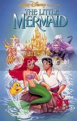 Ariel e Eric, A pequena Sereia.