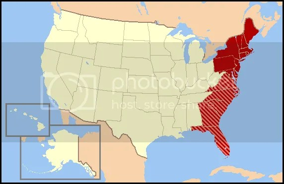US East Coast Fast Facts Quiz By Roxelana