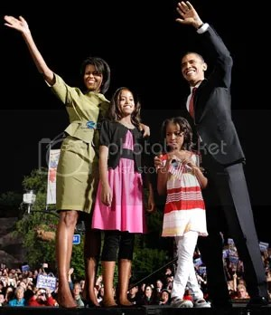 Obama N His Family Pictures, Images and Photos