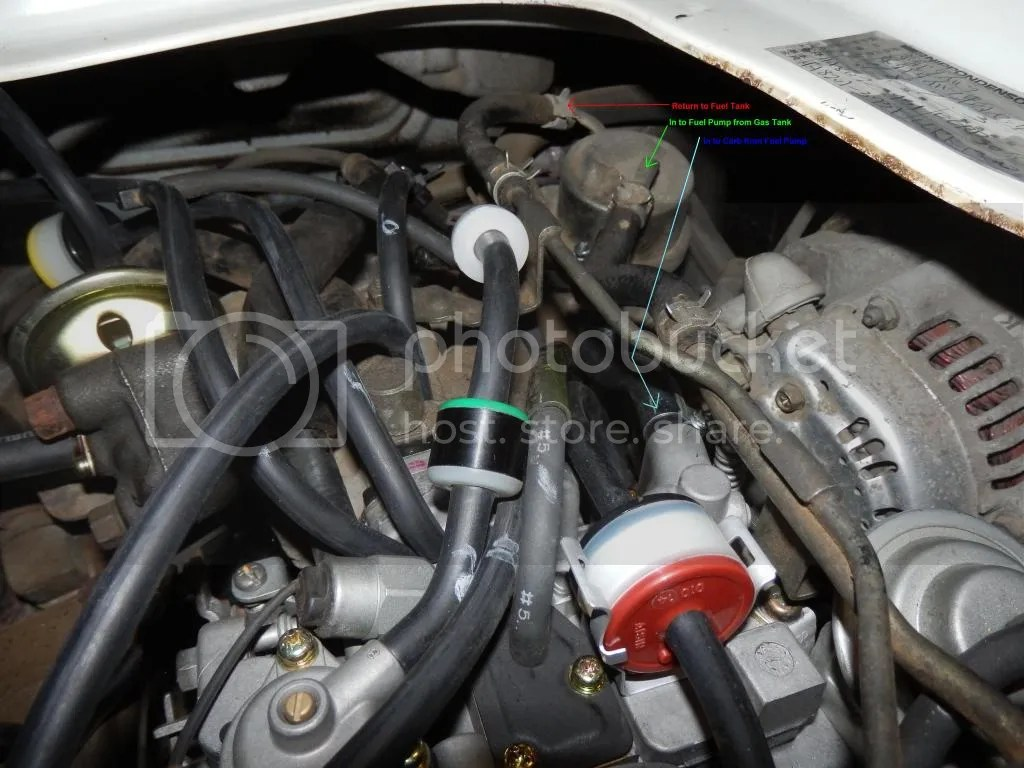 Fuel Injection System Diagram On Daihatsu Charade Vacuum Hose Diagram