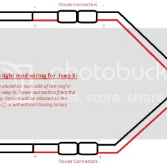 Cargo Light Wiring Diagram Double Pole Led Lights Jeep Cherokee Forum Can T Wait Till They Get Here Until Then S My Basic Plan
