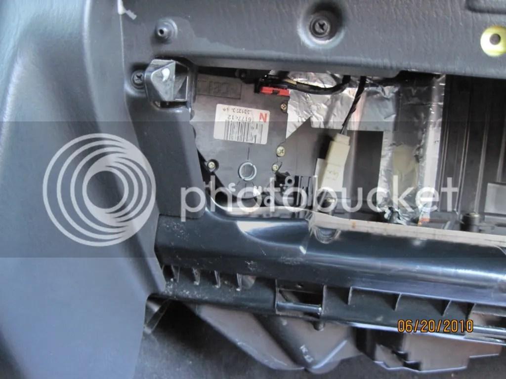 Liberty Jeep Blend Door Repair