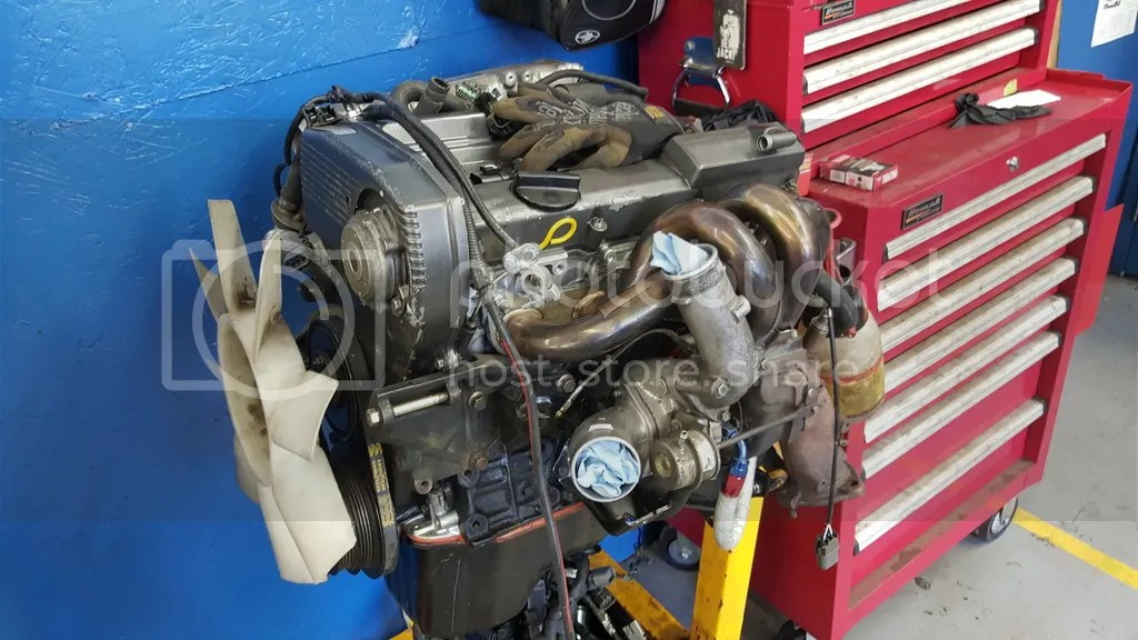 Nissan Sr20 Turbo Swap Kit