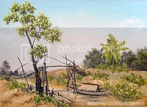 Tranh sơn dầu của Nguyễn Như Khôi
