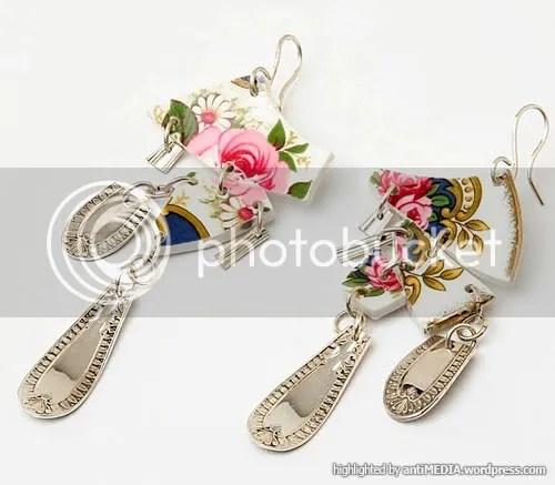 Broken crockery jewellery