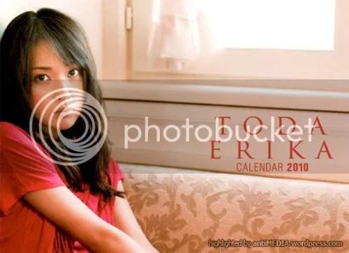 Toda Erika - Official Calendar 2010