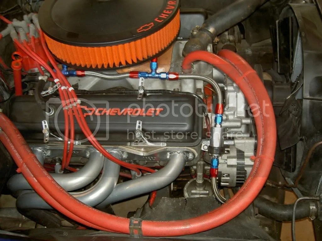 Chevy Small Block Spark Plug Wire Routing