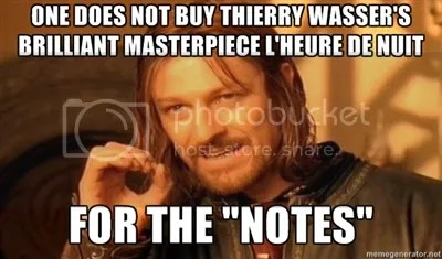 One does not buy Thierry Wasser's brilliant masterpiece L'Heure de Nuit for the