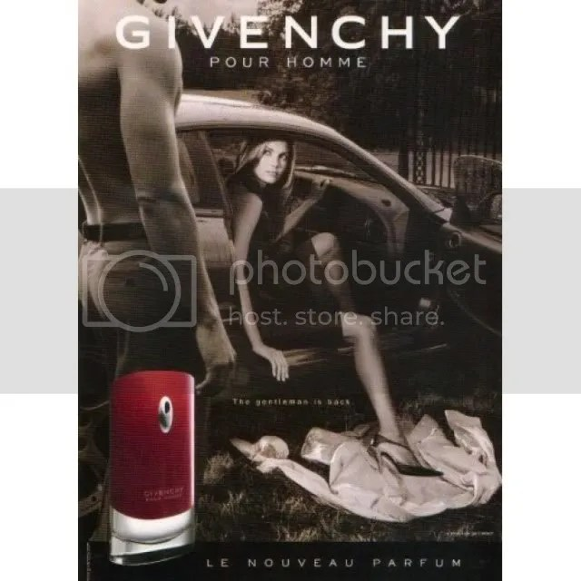Givenchy Pour Homme advertisement