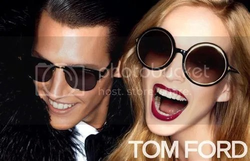 Tom Ford Sunglasses - always the right choice when blinded by fashion!