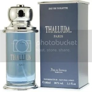 Thallium - Celebrity Scent of the World's First Scientist