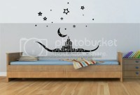 Islamic Wall Art & Crystals Calligraphy Vinyl Wall Sticker ...