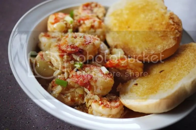 Gambas/Shrimps in Garlic Butter (1/6)