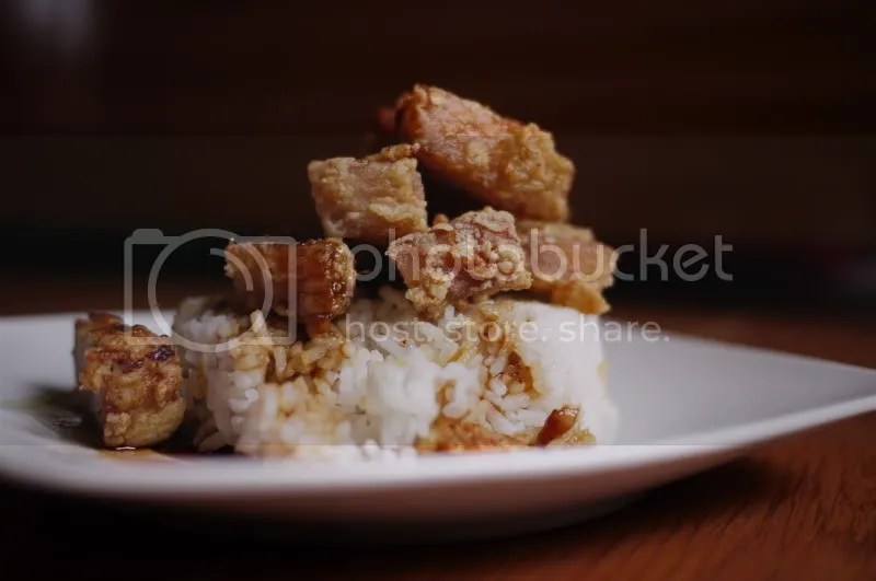 Chinese-style Fried Pork (and about puff pastry) (1/6)