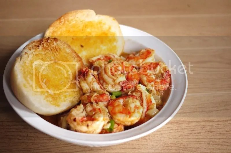 Gambas/Shrimps in Garlic Butter (5/6)