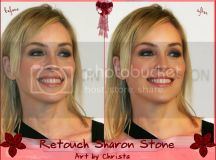 Retouche Sharon Stone By Christa Photo by bastelhexe012 ...