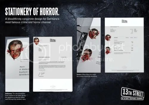 Stationary of Horror!