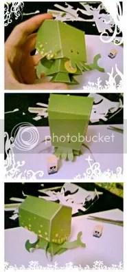 Cthulhu Papercraft toy