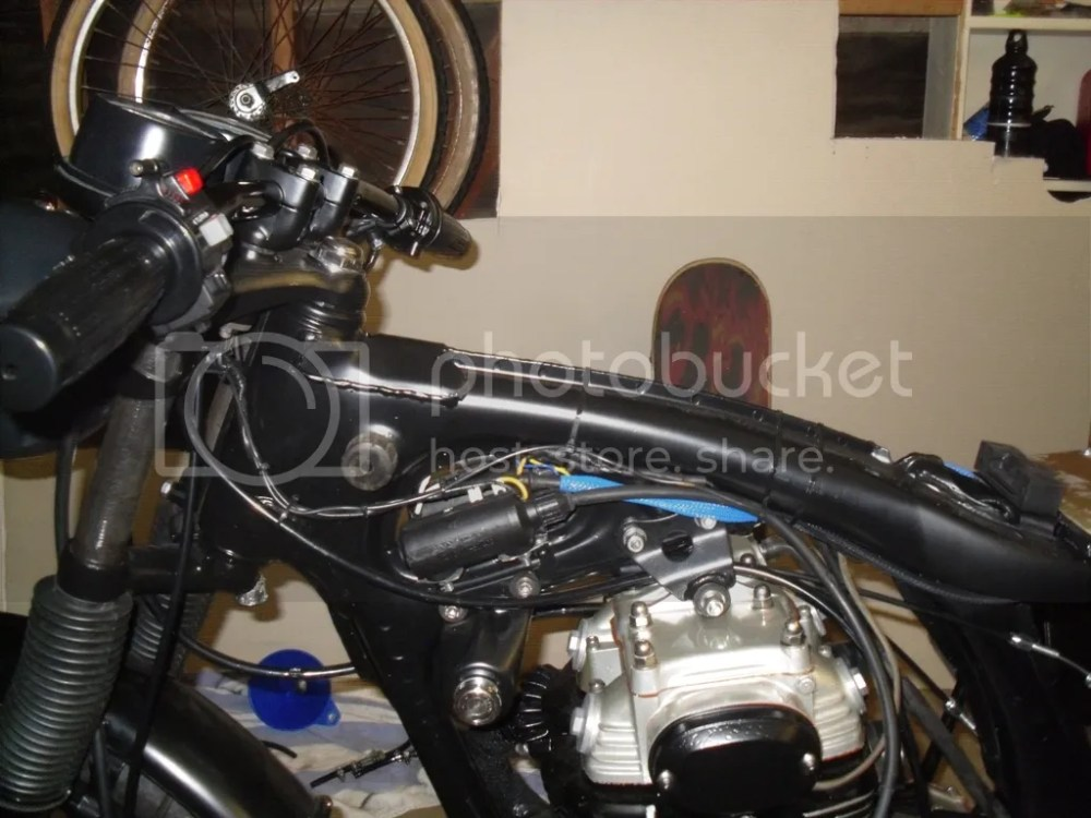 medium resolution of honda cb350 wiring wiring diagram 72 cb350 cafe stick a fork in her she s done