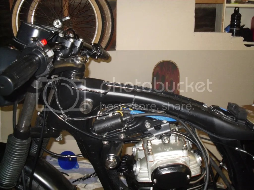 hight resolution of honda cb350 wiring wiring diagram 72 cb350 cafe stick a fork in her she s done