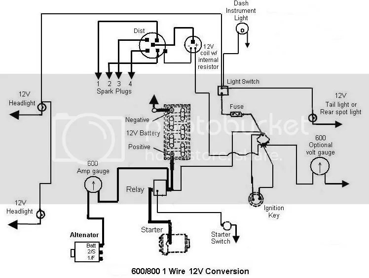 Ford 860 12 conversion diagram needed.