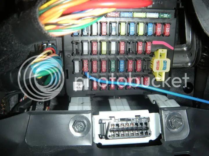 starex old fuse box