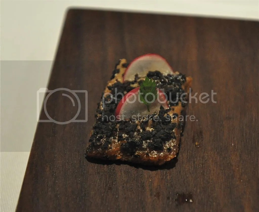 Truffle toast at the at Duck